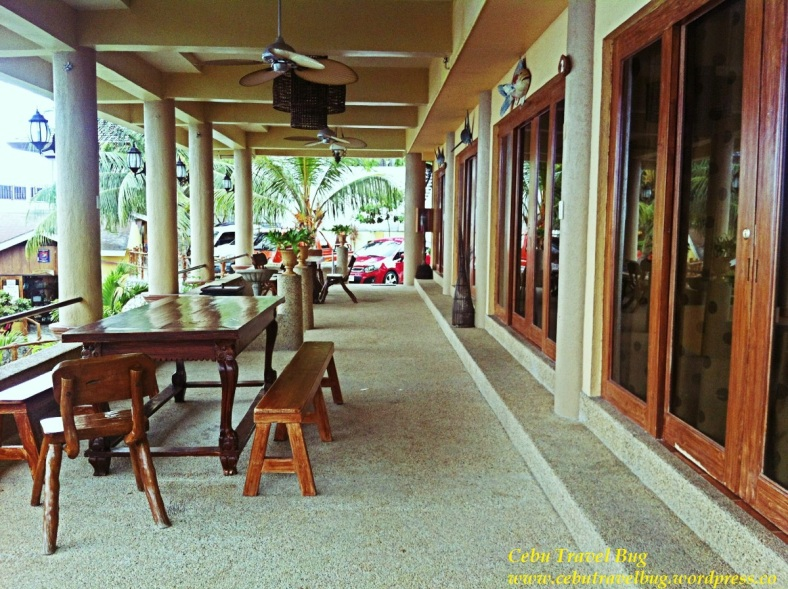 The veranda where you can sit,relax and feel the cool sea breeze caressing you.