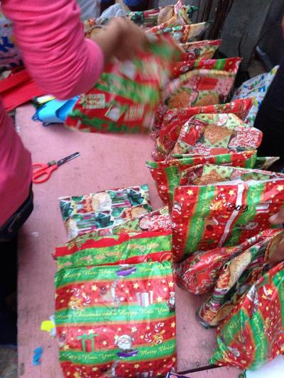 What is essential for kids this Christmas is receiving gifts.