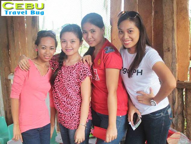 The girls (From Left: Celine, Jay-Jay, Iana, Reyna)