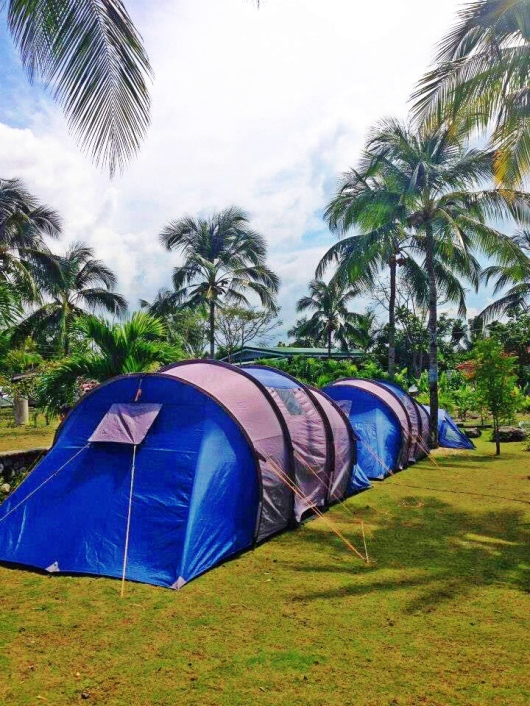 Its wide area is best for camping and group gatherings like parties, reunions and team building.